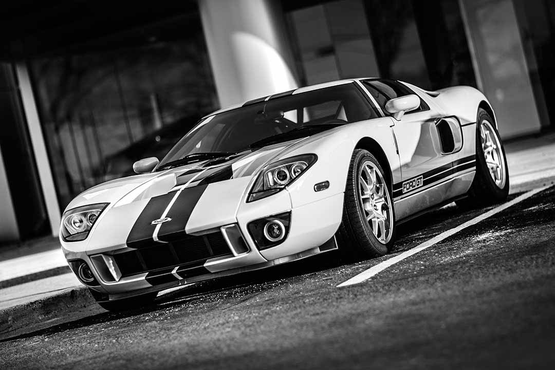 Ford GT - ready to start