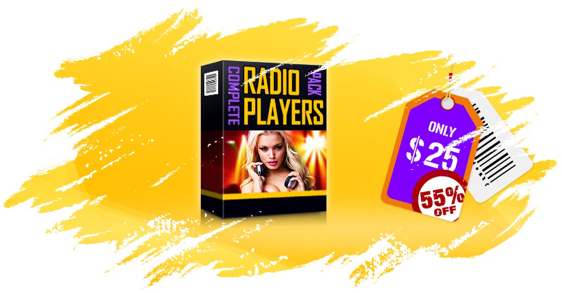 HTML5 Radio Players Bundle