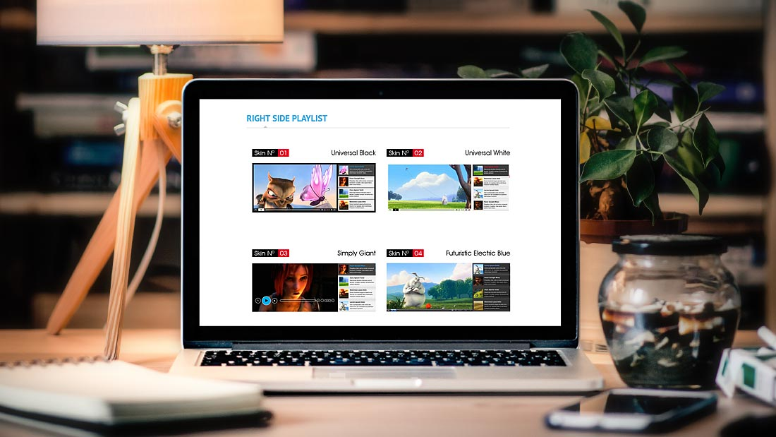 8 HTML5 Video Player WordPress Plugins