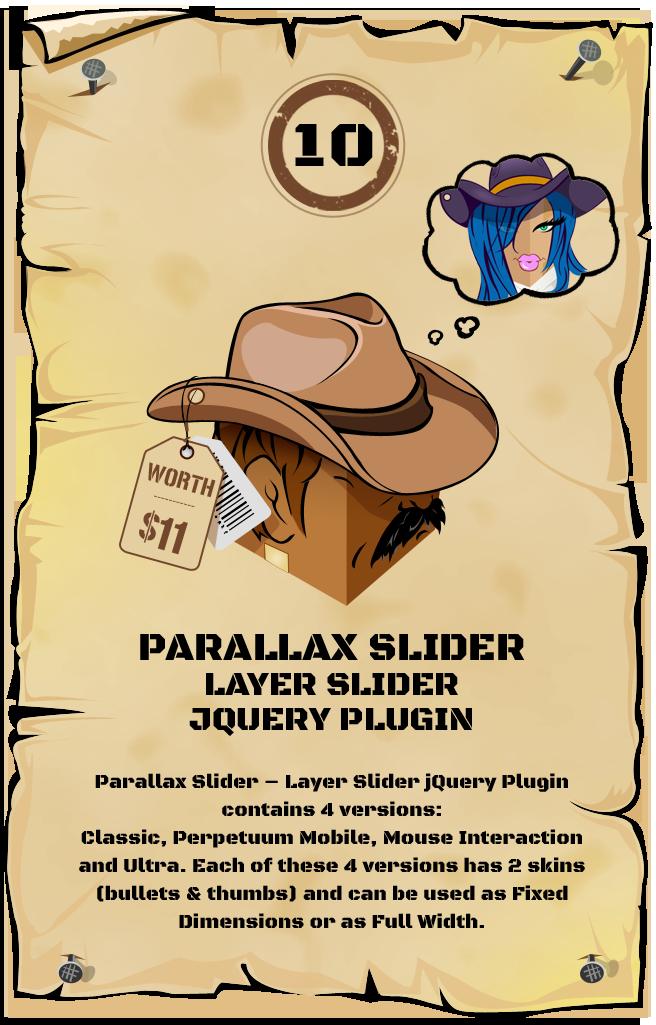 Parallax jQuery Slider