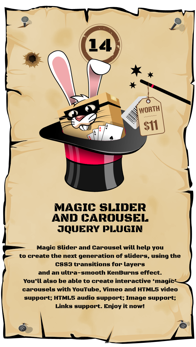 Magic Slider and Carousel jQuery Plugin