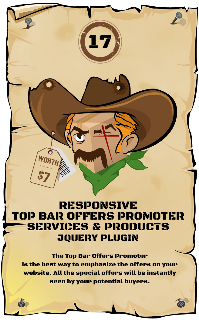 Top Bar Offers Promoter