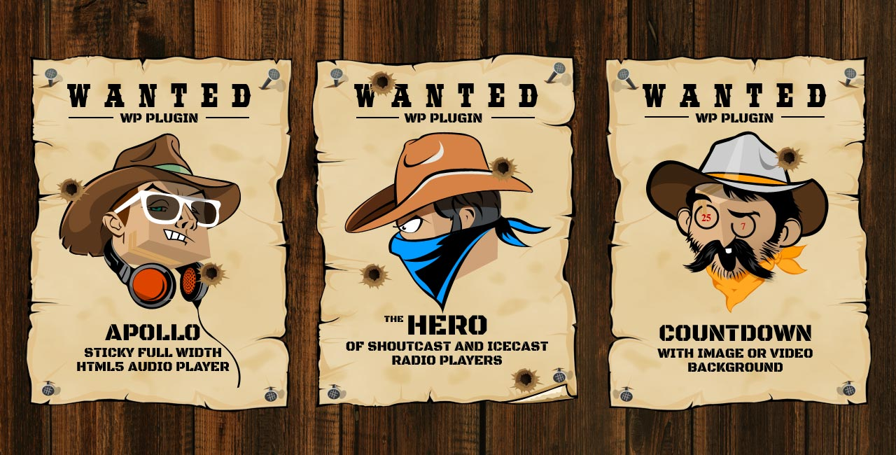 How does a Hero become a Wanted one? Shoutcast Icecast Radio