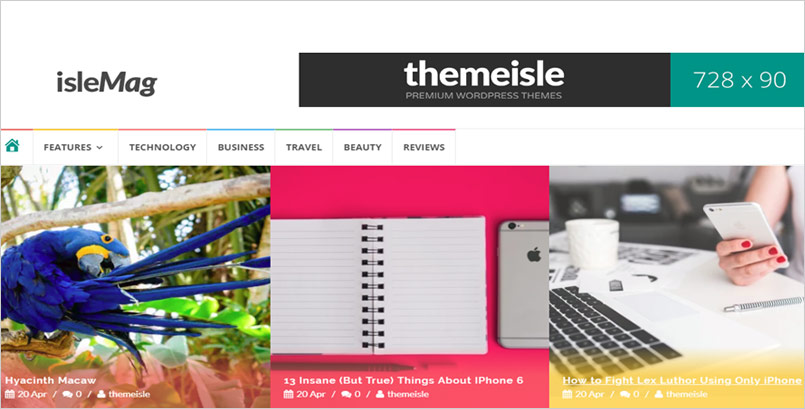 isleMag Theme