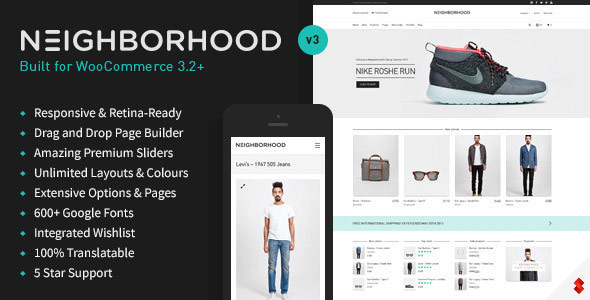 Neighborhood - Responsive Multi-Purpose Shop Theme