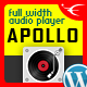 Apollo - Sticky Full Width HTML5 Audio Player - WordPress Plugin