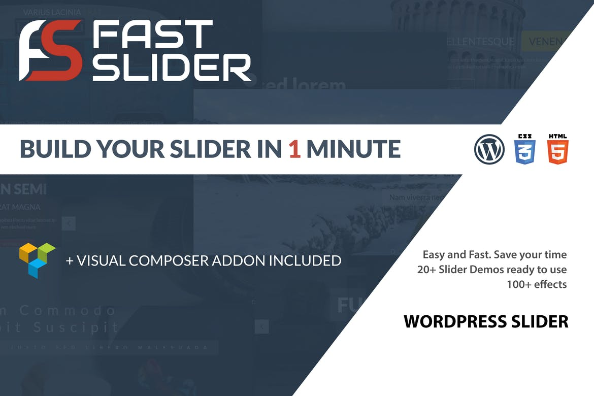 Fast Slider - Easy and Fast - Slider Plugin for WP