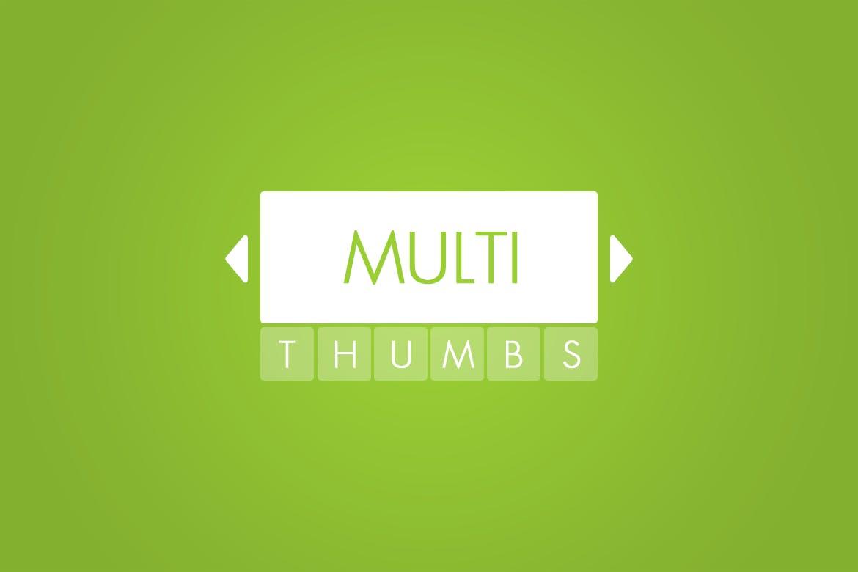 Multi-Thumbs Slider for WordPress