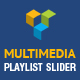 Multimedia Playlist Slider for WPBakery Page Builder