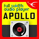 Apollo - Sticky Full Width HTML5 Audio Player - JQuery Plugin