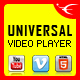 Universal Video Player - JQuery Plugin
