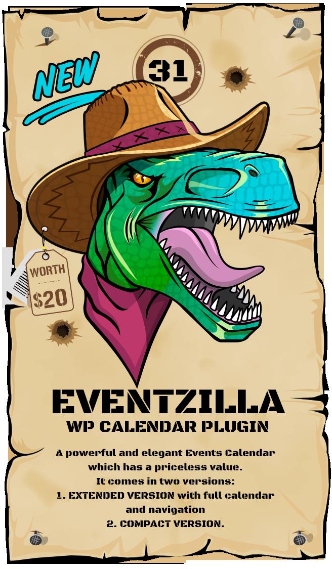 EVENTZILLA WordPress Calendar - Event Calendar Plugin