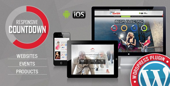 CountDown Pro WP Plugin - WebSites/Products/Offers - a Website Countdown WordPress Plugin