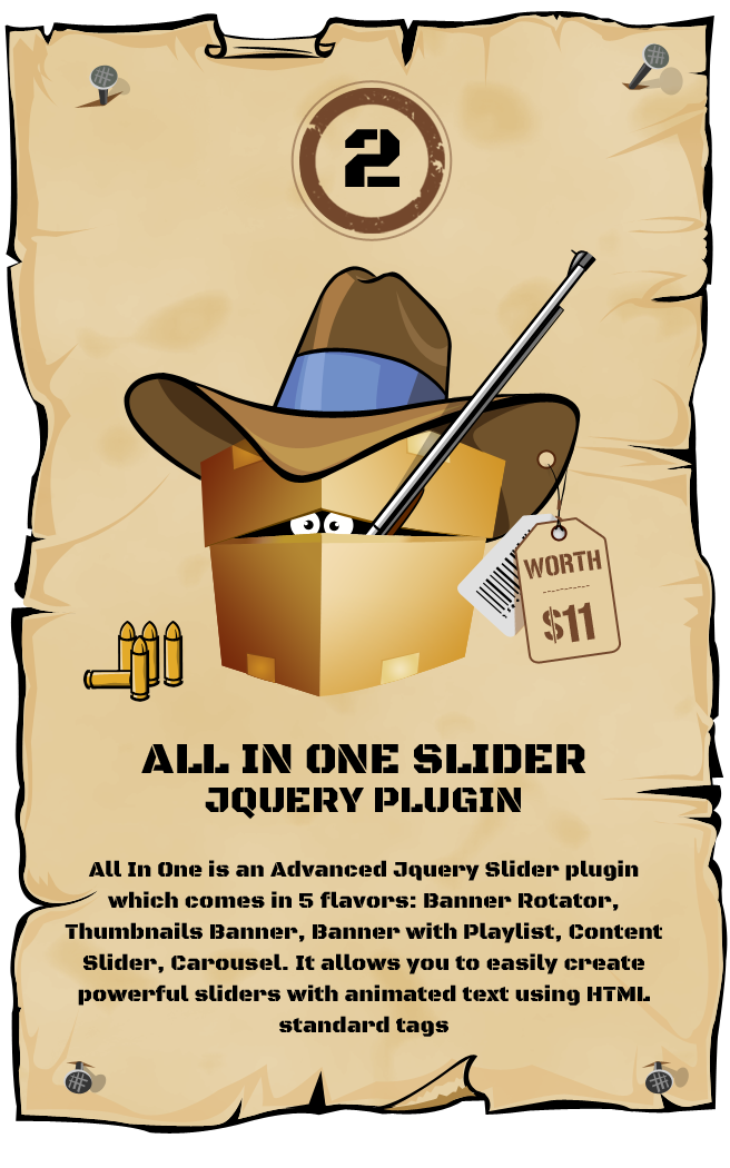 All In One Slider Responsive jQuery Slider Plugin