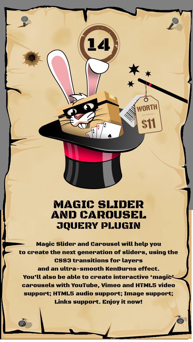 Magic Slider and Carousel jQuery Plugin