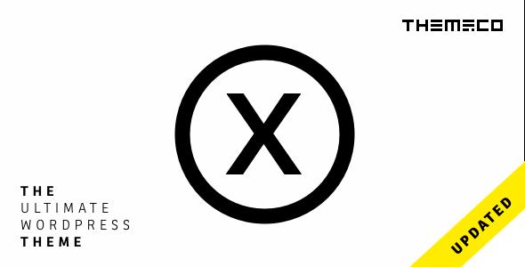 X | The Theme - Miscellaneous WordPress Theme