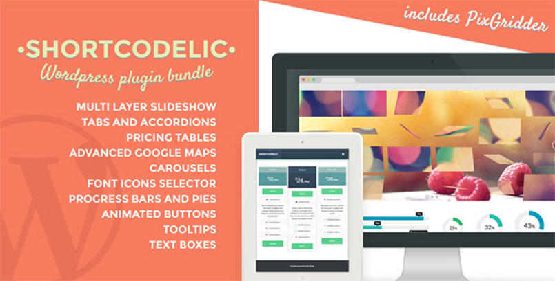 Shortcodelic - WordPress Plugin Bundle