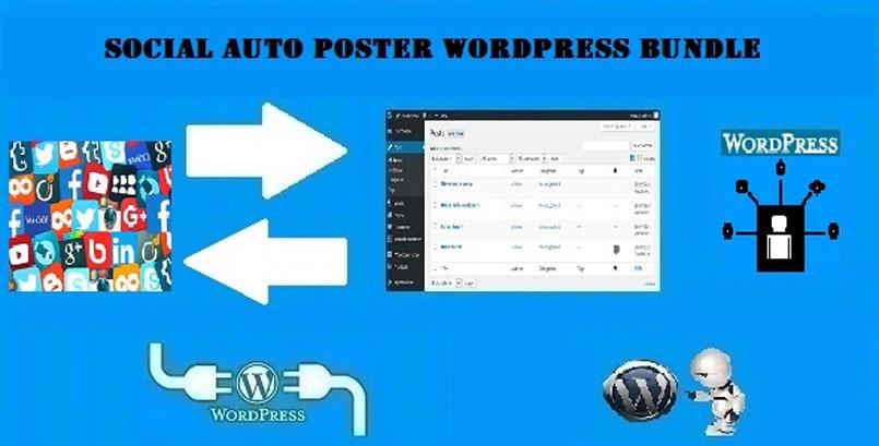 Social Auto Poster WordPress Bundle