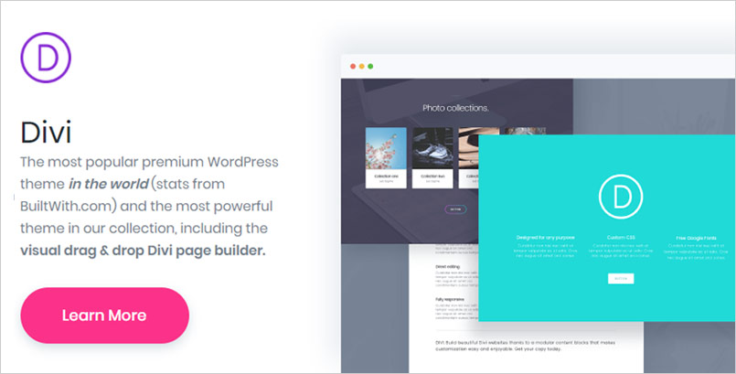 Divi The Ultimate WordPress Adsense and Visual Page Builder - in the category Adsense themes for WordPress