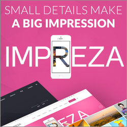 Impreza – Multi-Purpose WordPress Theme