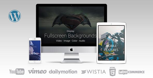 Ultimate Media Background FullScreen Background WordPress Plugin