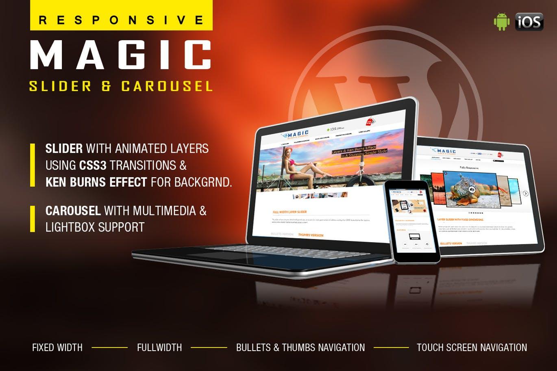 Magic Responsive Slider and Carousel WP Plugin