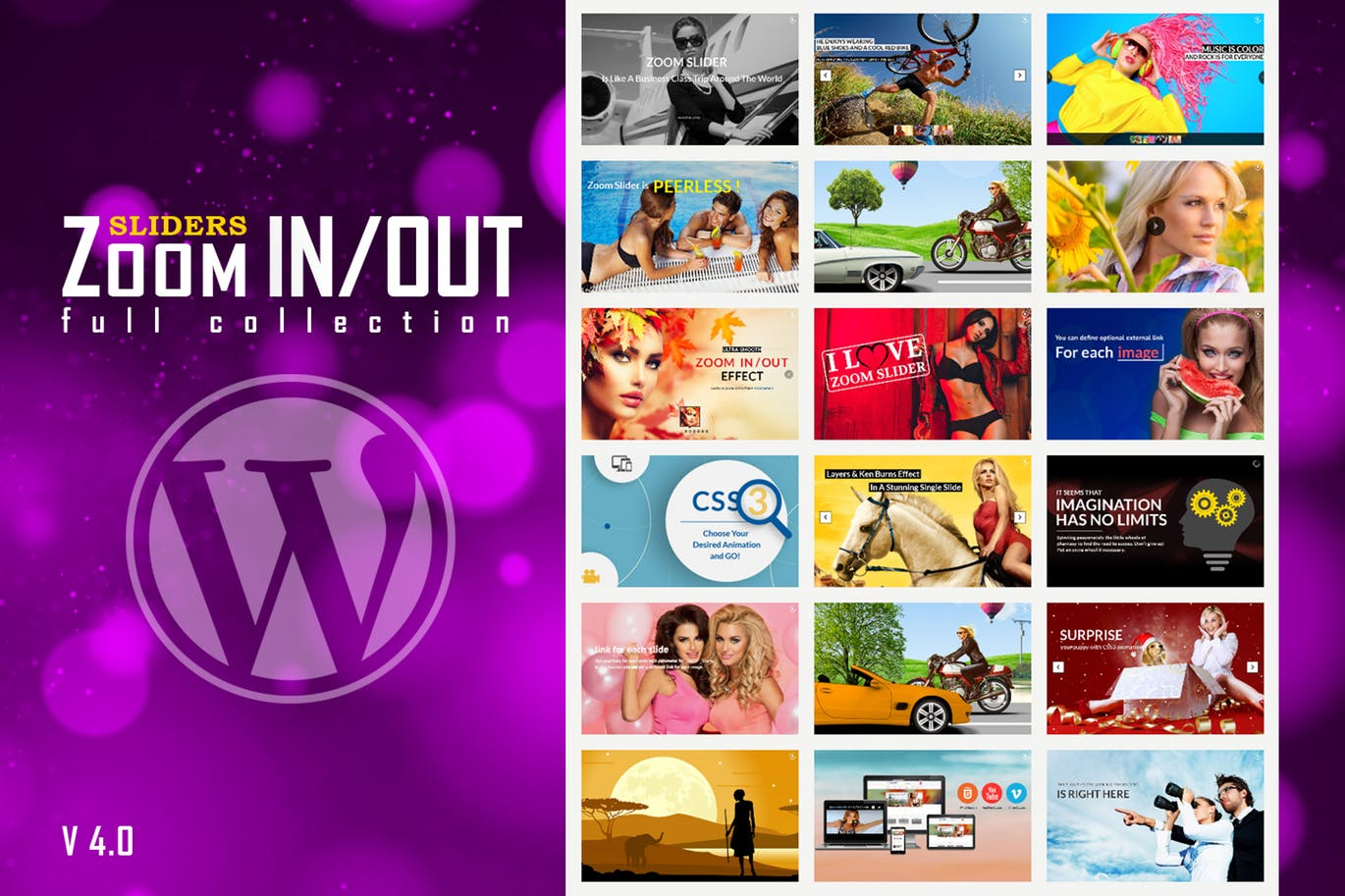 Responsive Zoom In/Out The Best WordPress Slider Plugin