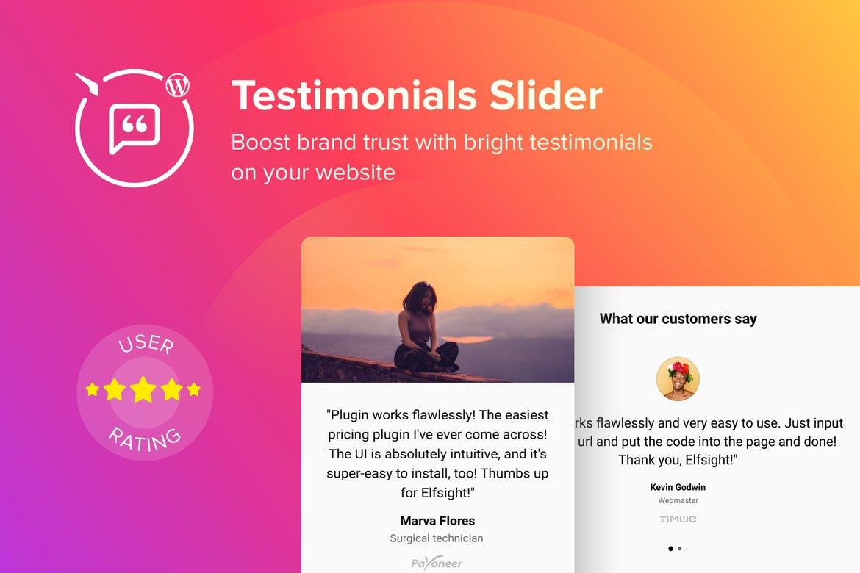 WordPress Testimonials Slider Plugin
