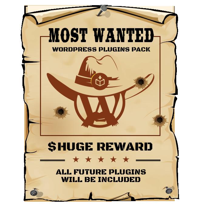 Most Wanted WordPress Plugins Bundle - Best Bundle WP Deal