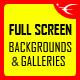 Image&Video FullScreen Background JQuery Plugin