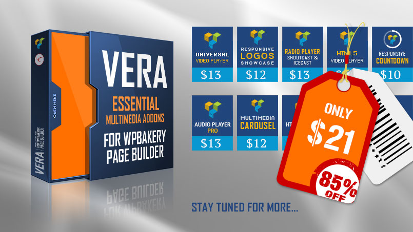 Vera - Multimedia VC Add-ons - WPBakery Addons
