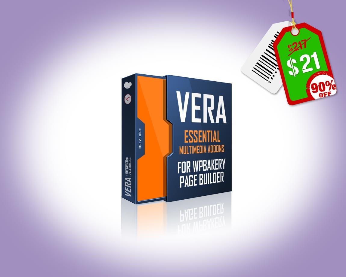 Vera Bundle - 14 Essential Multimedia Addons for WPBakery Page Builder